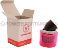 Air_Filter_ _38mm_to_40mm_Conical_Waterproof_Angled_Yimatzu_Brand_Red_1