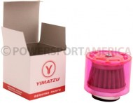 Air_Filter_ _41mm_to_43mm_Conical_Waterproof_Straight_Yimatzu_Brand_Red_1