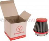 Air_Filter_ _44mm_to_46mm_Conical_Medium_Stack_60mm_2_Stroke_Yimatzu_Brand_Red_1
