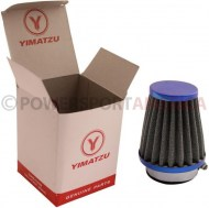 Air_Filter_ _44mm_to_46mm_Conical_Tall_Stack_80mm_2_Stroke_Yimatzu_Brand_Blue_1