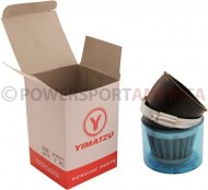 Air_Filter_ _58mm_to_60mm_Conical_Waterproof_Angled_Yimatzu_Brand_Blue_1