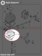 Gearshift_Body_Assy_ _ATV_Hisun_500 700cc_1
