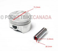 Piston w/ Wrist Pin for Vyper 1100cc UTV Side by Side ROV - G8030037