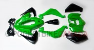 Lime Plastic Fender Body Kit for 110cc, T1 Rebel, ATV Quad 4 Stroke - G1020032